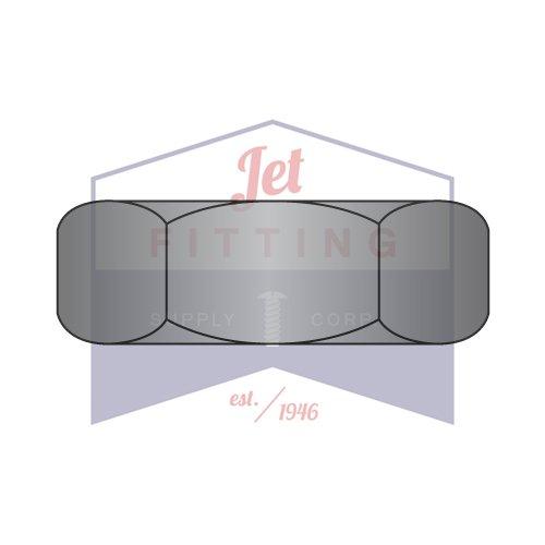 8-32 Hex Machine Screw Nuts//Steel//Black Zinc Quantity: 10,000 pcs