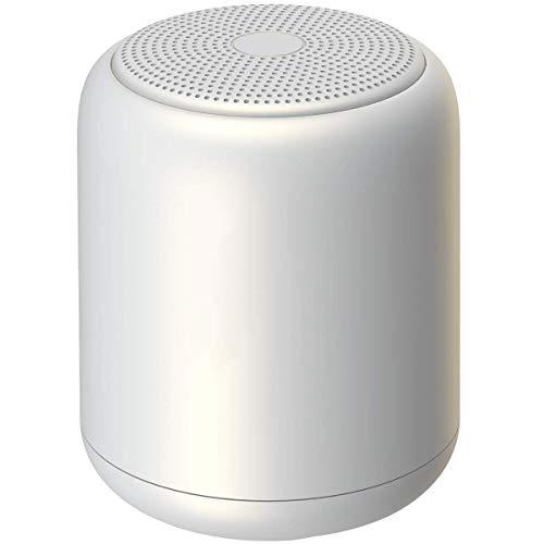 HWZDQLK Bluetooth スピーカー ブルートゥーススピーカー ワイヤレススピーカー IPX5 防水スピーカー ポータブルスピーカー 小型スピーカー スマホ スピーカー 6時間連続再生/大音量/お風呂 iphone/android/pcなど対応 ホワイト