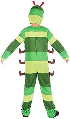 Bristol Novelty- Caterpillar (S) Disfraz de oruga, Color edad: 4 a ...