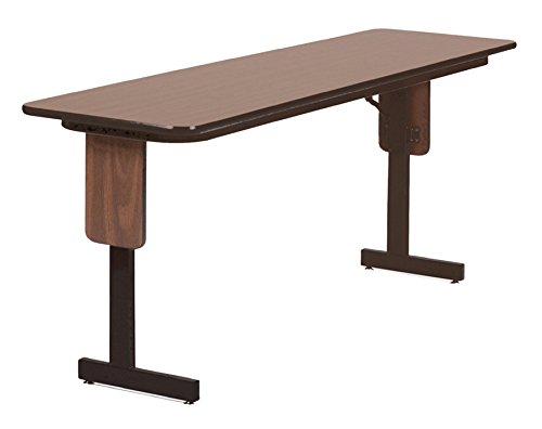 Correll SP1860PX-06 High Pressure Laminate Classroom, Training or Seminar Table with Folding Panel Leg  , Rectangular, 18