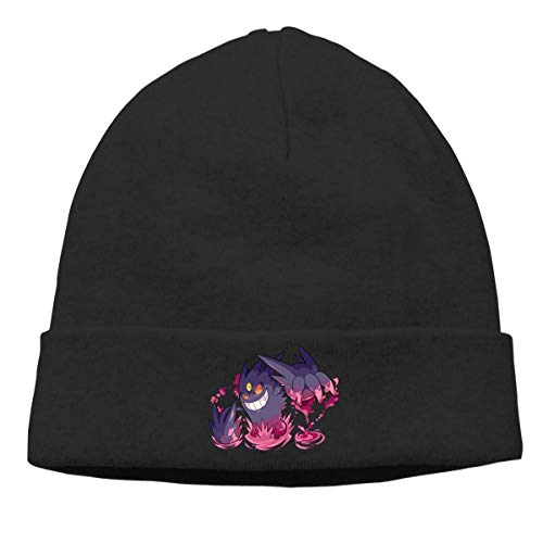 Gengar Art Skull Hats Knitted Cap Beanie Black