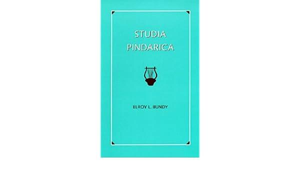 Studia Pindarica