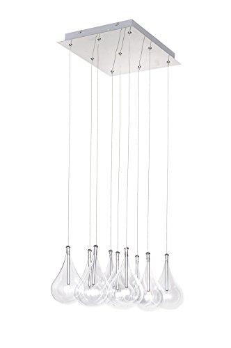 Larmes 9 Light Pendant