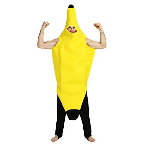 Banana Costumes Plus Adult (Banana Costume For Adult Lightweight Banana Suit Halloween Costume)