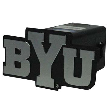 NCAA BYU Cougars 6DP Car Trailer Hitch Cover, One Size, Multicolor (Cougars Car Byu)