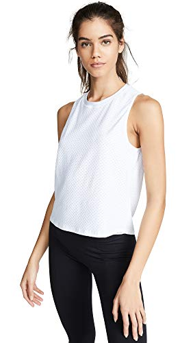 Koral Activewear Women's Muscle Tank, White, Small