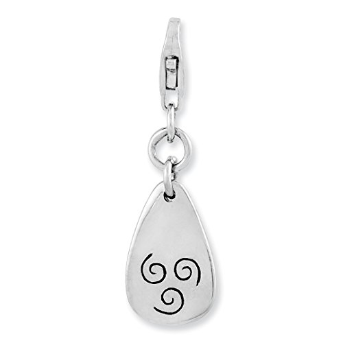 ICE CARATS 925 Sterling Silver Air Symbol Lobster Clasp Pendant Charm Necklace Outdoor Nature Fine Jewelry Ideal Gifts For Women Gift Set From Heart (Outdoor Pend)