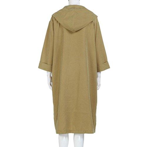 Windbreaker Capuche Kaki Overdose Parka Oversize Manteau Taille femme Long Grande Outwear Hiver SxqxagzwH