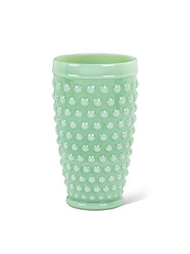 Green Glass Hobnail Highball Jade 6