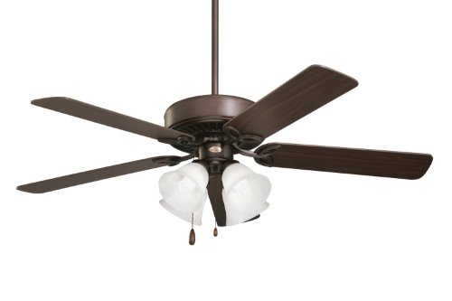 Emerson Ceiling Fans CF711ORB Pro Series II Indoor Ceiling Fan With Light, 50-Inch Blades, Oil Rubbed Bronze Finish - Emerson Glass Ceiling Fan