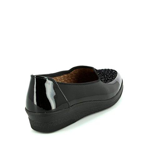 Gabor Shoes Comfort Basic, Zapatos de Cordones Derby Mujer Negro (67 Schwarz)