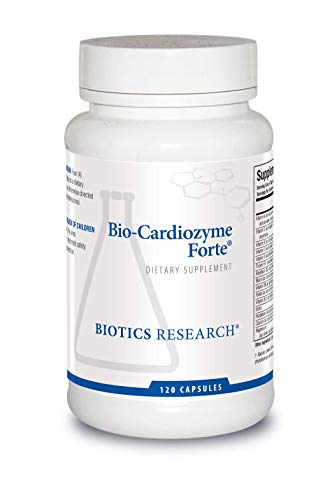 Biotics Research Bio-Cardiozyme Forte®- Healthy Heart Multivitamin. Broad-Spectrum Formulation Designed to Support Cardiovascular Health and Function. Powerful antioxidant Support 120 Caps