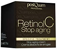 Postquam - Retinol C | Crema antiarrugas con retinol y Vitamina C, Crema Antiedad - 50ml