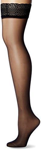 Dim Hosiery Women's Sublim Glossy Sheer Stay-Up Stock