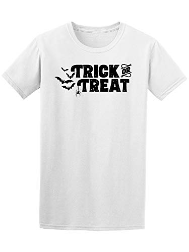 (Trick Or Treat Halloween Quote Tee Men's -Image by)