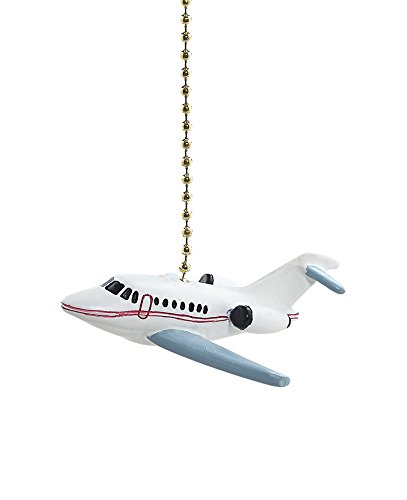 Airplane Ceiling Fan Pull (Jet Airplane Fan Pull Decorative Light Chain by)