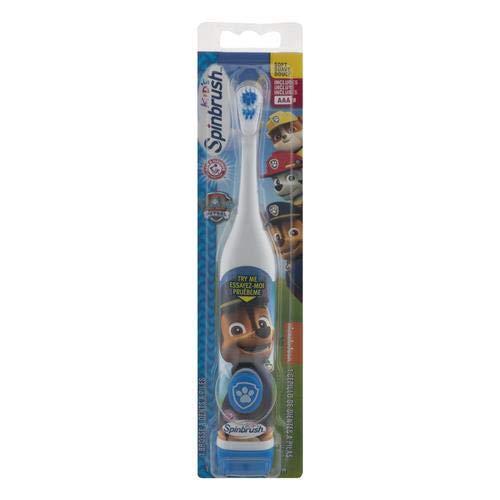 Arm & Hammer Kid's Spinbrush Battery Powered Toothbrush (Pack of 4)