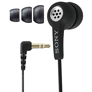 SpyGear-Sony Compact Earphone Style Microphone, Designed to Record Phone Conversations From Your Cell or Telephone to Your Voice Recorder, Computer and Any Other Recording Device - Sony