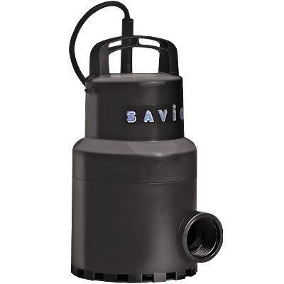 Savio Water Master Clear Pump-1740 GPH, 115 Volt, 1 1/4in, Model# WMC1740 Pond Pump, ()