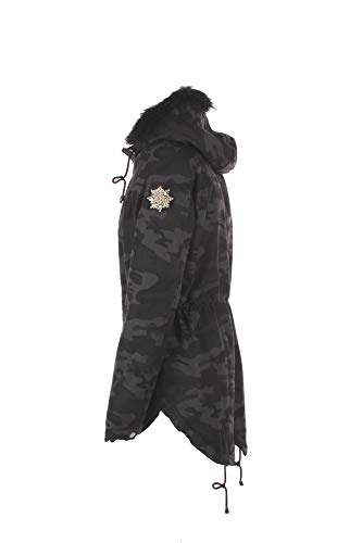 Kocca 19 2018 Inverno Donna Camouflage Magnum Giubbotto S Autunno r8q4RBr