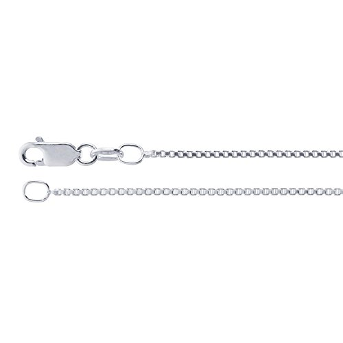 1 2mm Sterling Silver Chain Necklace