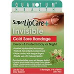 Quantum Oral Care Super Lip Care + Invisible Cold Sore Bandage 12 count (a)