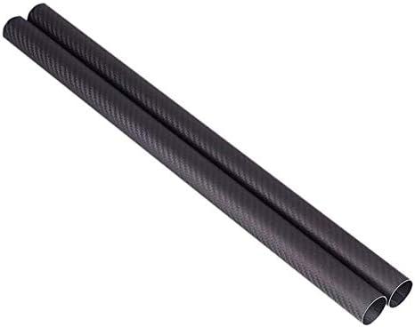 SZQL 3K Carbon-Faser-Rohr für Lichtachse mit Stents, PC Ausrüstung Matt Oberfläche matt Oberflächen,Inside Diameter:11mm