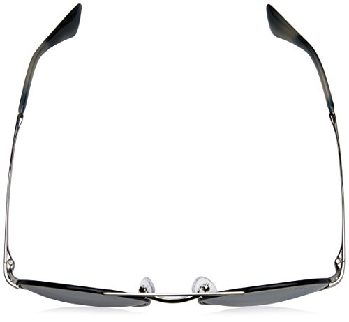 Sonnenbrille Prada black silver pr 51ss Negro light Grey Silver 6dwRwqZ