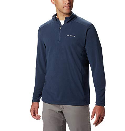 Columbia Men's Klamath Range Ii Half Zip, collegiate navy solid, - L/s Zip Top Half