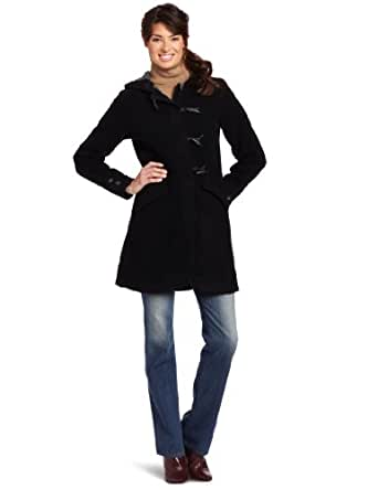 Woolrich Women's Bristol Duffle Jacket, Black, X-Small