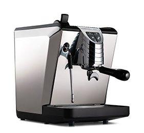 Combo Set Nuova Simonelli Espressomaschine Oscar II schwarz Kaffem/ühle Grinta AMMT Made In Italy