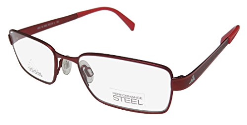 Eyeglasses Adidas Base-Y Full Rim Performance Steel kids A 003 6053 red matte
