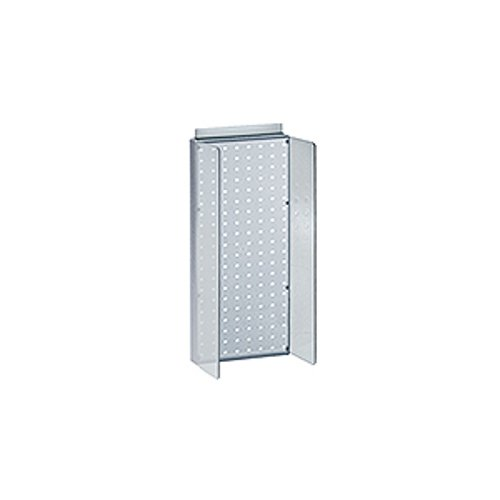 New Retails Blue Pegboard Powerwing Display 8''w x 20.625''high by Pegboard Powerwing Display