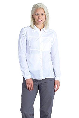 ExOfficio Women's Lightscape Long Sleeve, White, Large ()