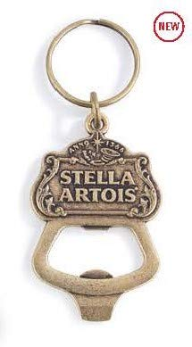 Cheap Stella Artois Signature Bronzed Keychain Bottle Opener