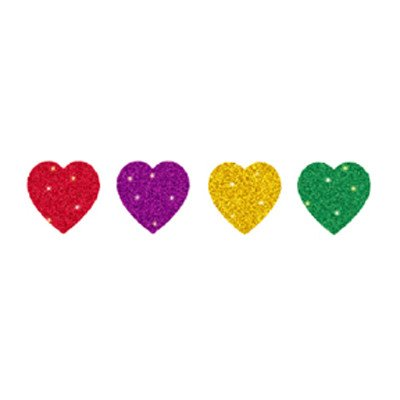 Dazzle Seals Heart Sticker [Set of 3]