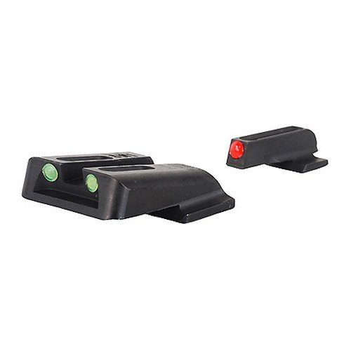 TRUGLO Fiber-Optic Front and Rear Handgun Sights for for sale  Delivered anywhere in USA