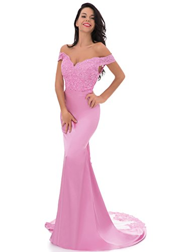 Silhouette Prom Mermaid Gown (Women's Retro Long Mermaid Evening Gowns Formal Homecoming Prom Dress Bridesmaid)