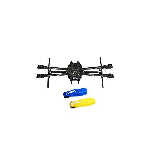 Tarot Iron Man 650 Carbon Fiber Fully Foldable Quadcopter Frame TL65B01 (Free ARRIS Battery Straps)