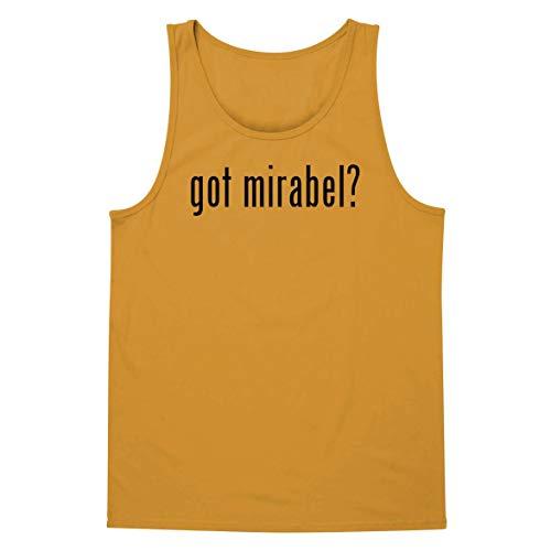 The Town Butler got Mirabel? - A Soft & Comfortable Men's Tank Top, Gold, Large
