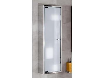 Lineabeta Armario baño Cristal hängeschrank 60 x 25 Acero ...