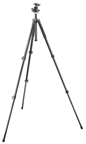 Manfrotto MK294A3-A0RC2 294 Aluminum Tripod Kit with Ball Head with Quick Release