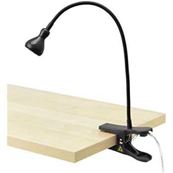 Ikea 801.696.36 Jansjo LED Clamp Spotlight, Black