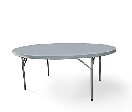 Mesa redonda 180x74 cm para restaurante y catering. Mesas catering ...