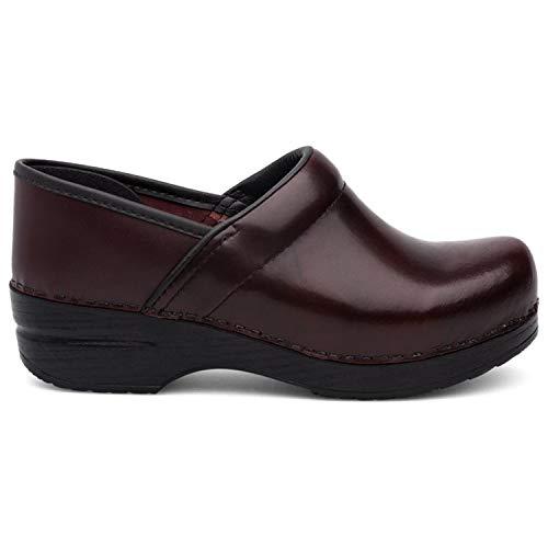 (Dansko Women's Professional Mule,Cordovan Cabrio Leather,39 EU/8.5-9 M US)