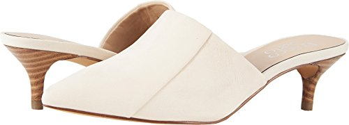 Franco Sarto Women's Doxie Mule, Milk, 9.5 Medium (Kitten Mule)