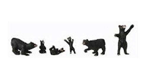 WOODLAND SCENICS A2737 Black Bears O WOOU2737