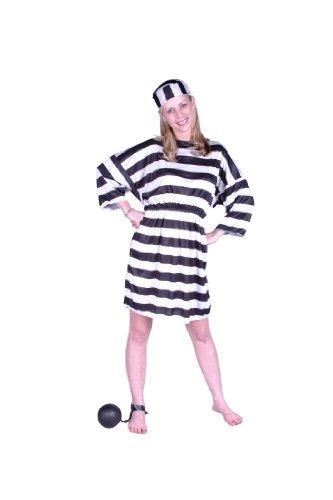 RG Costumes Convict Lady Costume, Plus