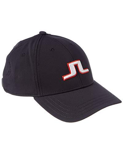 J.Lindeberg Angus Tech Stretch Hat, Black