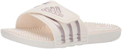 adidas Originals Womens B42214 Adissage White Size: 7 US 7